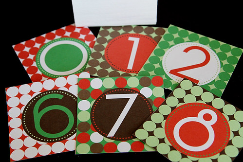 Christmas Countdown Blocks 8
