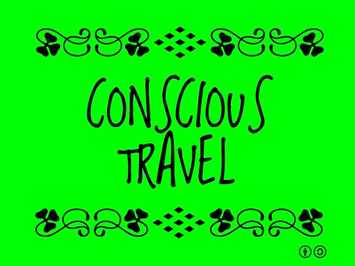 Buzzword Bingo: Conscious Travel = Being mindful of the impact and opportunities within travel #TurismoConsciente #buzzwordbingo