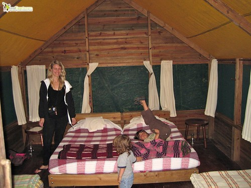 Glamping in Belize - Macal River Camp Hotel Review - Glamping tent