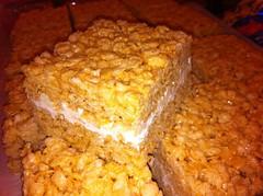 White Chocolate Rice Treats! $2.00 pc or $20.00 a pan (12pcs)