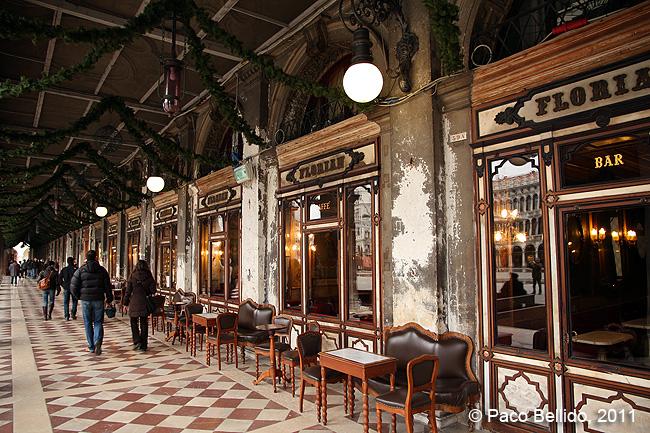Café Florián. © Paco Bellido, 2011