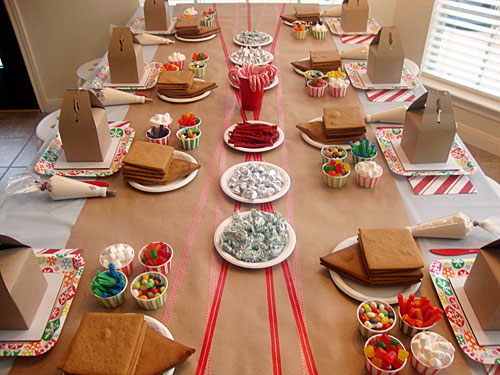 Libbie Grove Design Gingerbread House Party And Recipe