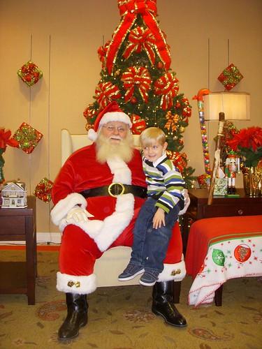 Santa's coming! Santa's coming!