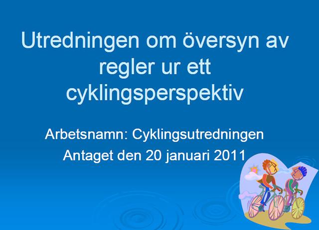 Cyklingsutredningen