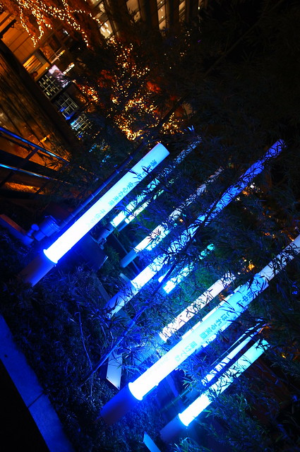 MIDTOWN CHRISTMAS bamboo illumination
