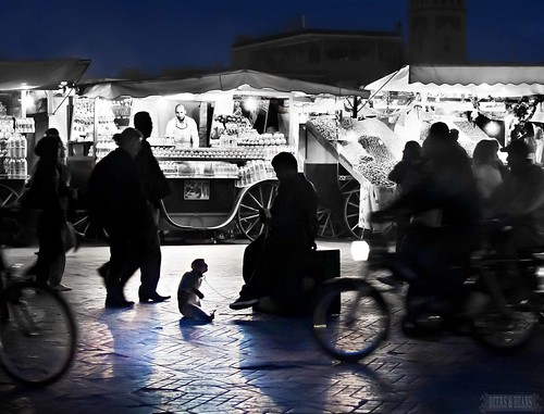 Marrakech Medina after Dark