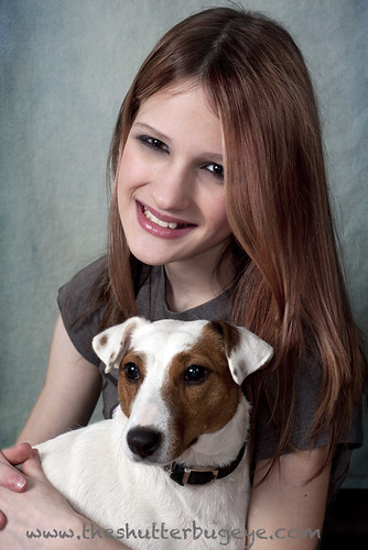 Girl with her dog by The Shutterbug Eye™