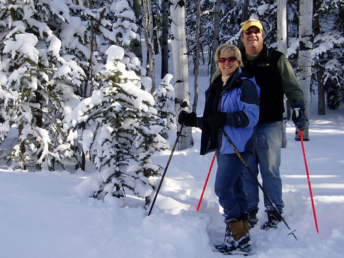 steveandgwensmith posted a photo:	On the Prayer Trail at Aspen Ridge!