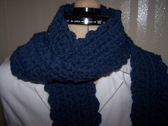 ic51, crochet, scarf