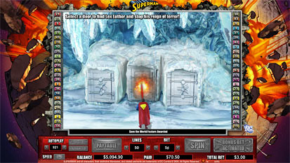 Superman free spins