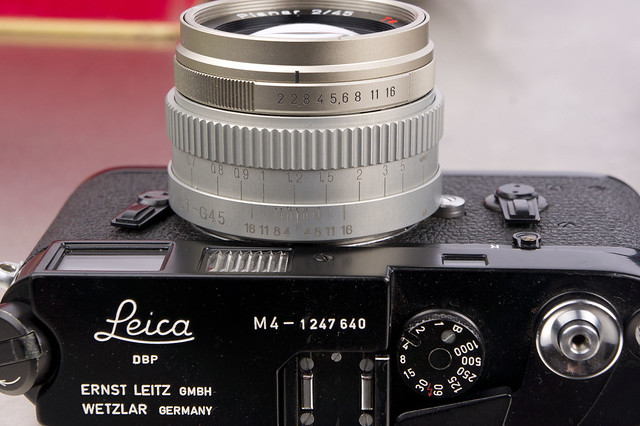 New Contax G/Leica M Conversion from rangefinderforums