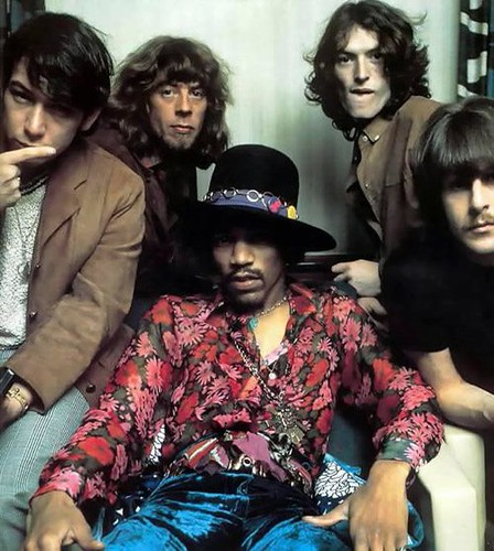 Eric Burdon, John Mayall, Jimi Hendrix, Steve Winwood, Carl Wayne  (1967) by nesic.alex