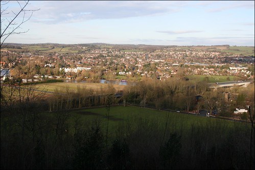 Marlow viewed from Winter Hill, Cookham Dean