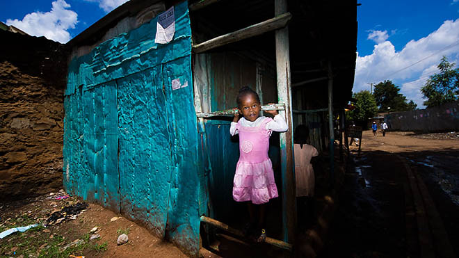 Kibera, Nairobi, Mike Kobal Photo