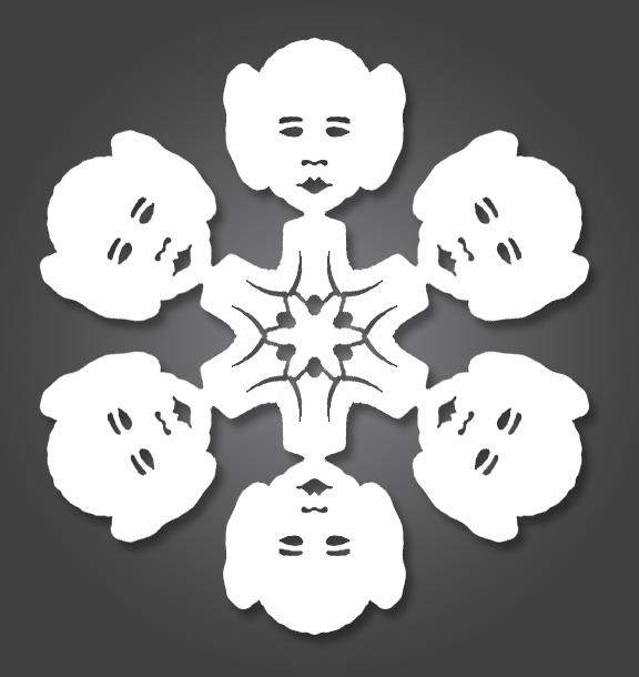 Floco de neve - Star Wars Natal