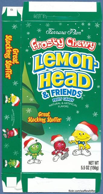 Christmas Lemonheads - 2011