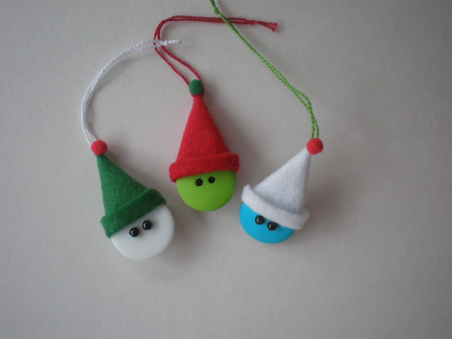 Elves ornaments