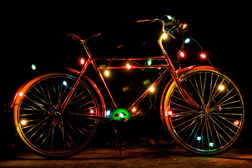 The Prudent Cyclist's Xmas Flying Pigeon