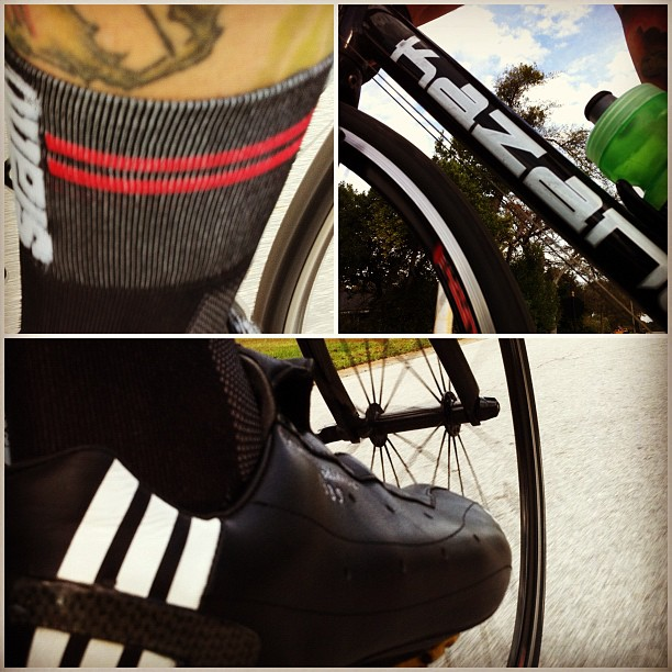 @sfattoclothing sock & favorite shoe combo. (too hot for shoe covers)