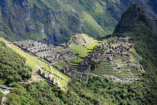 Machu Picchu from Gate of the Sun