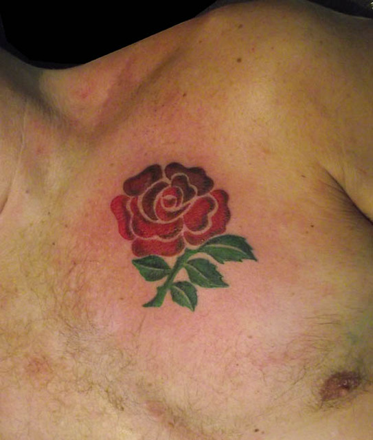 Tattoo Ideas England: England Rugby Rose Crest