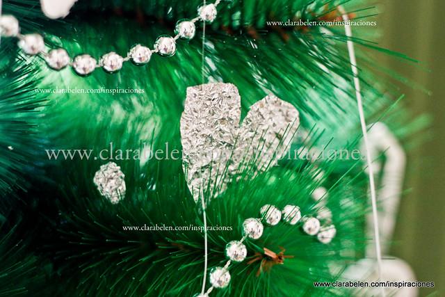 Manualidades y decoración con papel albal y envoltorios de bombones