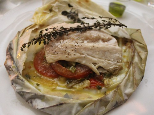 Striped Bass Papillote