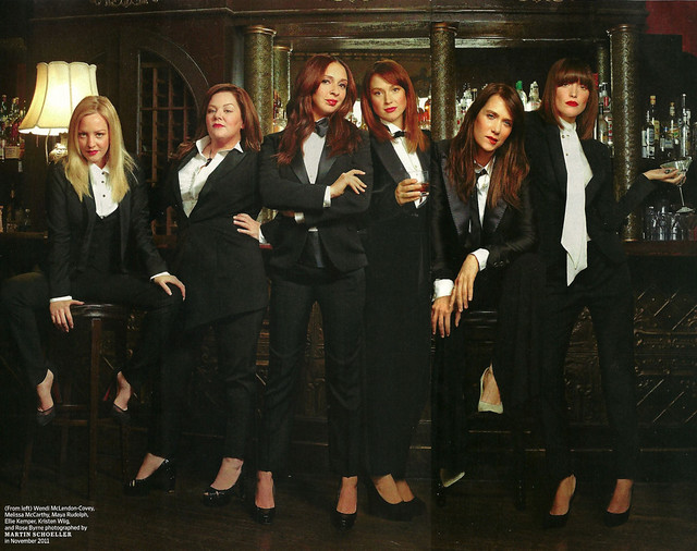 Wendi McLendon-Covey, Melissa McCarthy, Maya Rudolph, Ellie Kemper, Kristen Wiig & Rose Byrne