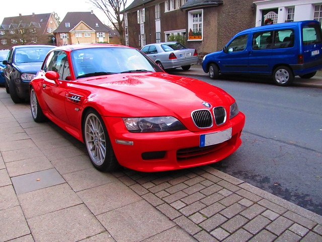 M54 BMW Z3 Coupe | Hellrot Red | Black