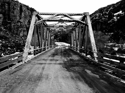 bridge in Taos, NM