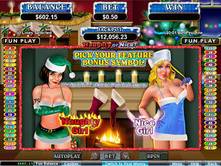 Naughty or Nice Slot Bonus Feature