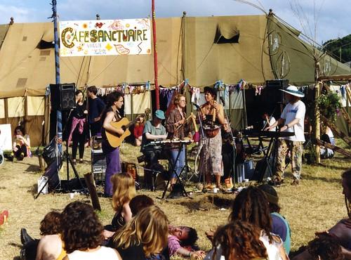Baka Beyond | Cafe Sanctuaire | Glastonbury | 1994