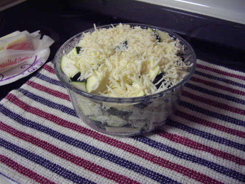Baked Zucchini by marlenegeary