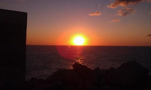 Prima alba del 2012 da Punta Palacia, Otranto