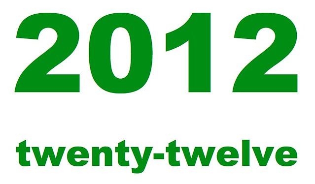 2012 Twenty Twelve
