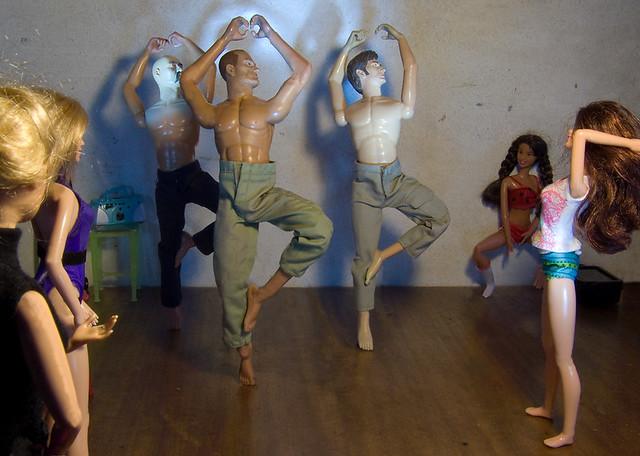 Dolls Dance 'America' - The Boys