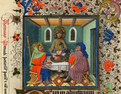 017-The Hours of Catherine of Cleves- alrededor de 1440 - MS M.945 Fol.139r-detalle-© The Morgan Library & Museum