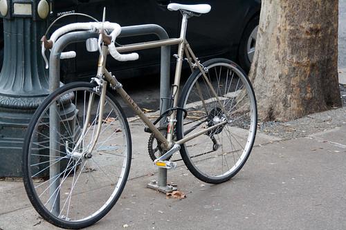 Locked Up Lugged Steel Trek Downtown Bikeportland Org