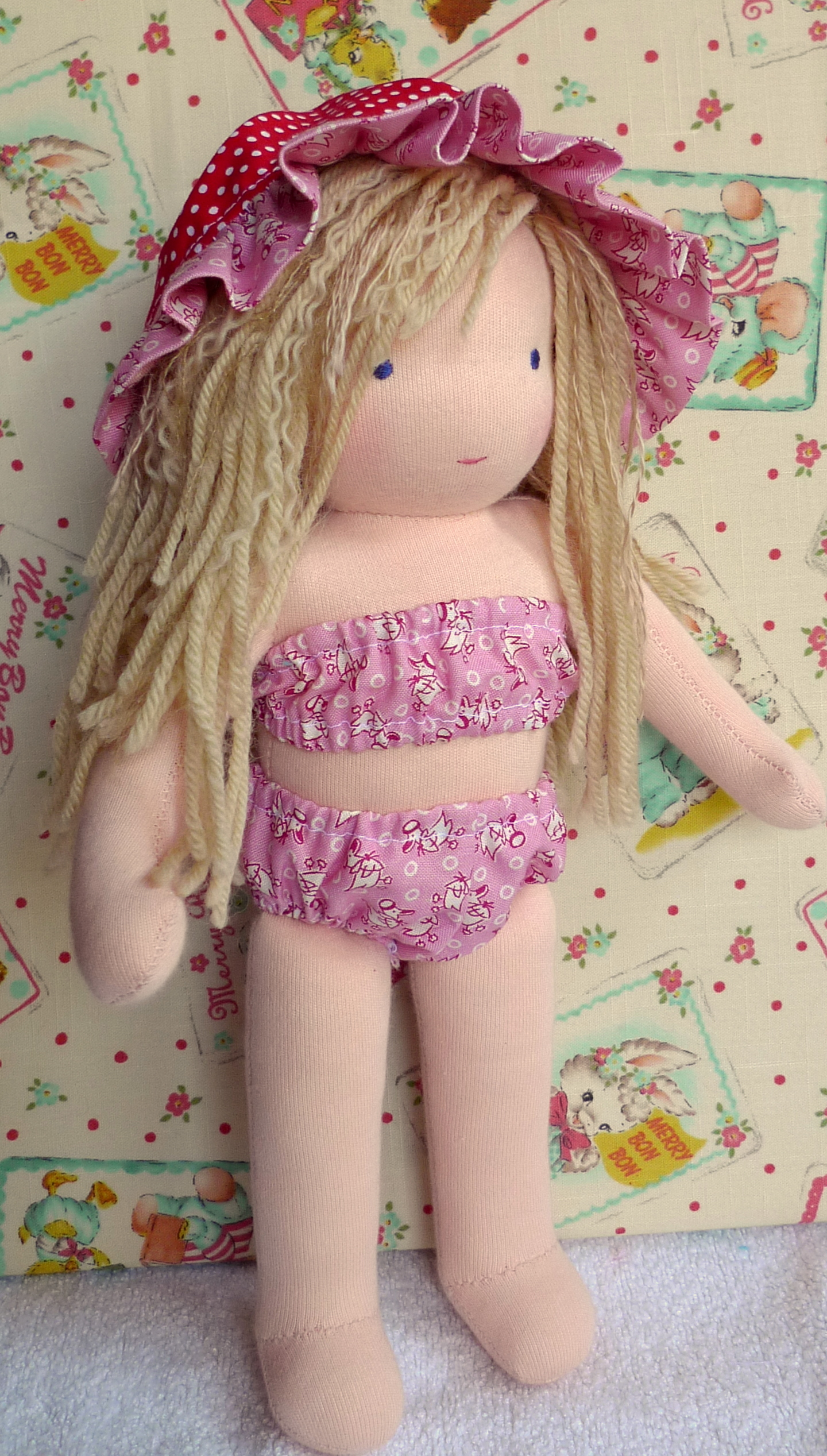 Caitlin's doll - summer outfit