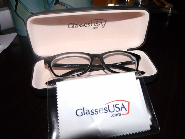 GlassesUSA review with Images: A few months ago I ordered a pair of glasses from GlassesUSA and thought since it had a % Money Back Guarantee and a day Warranty that they would stand my their frames and lenses.