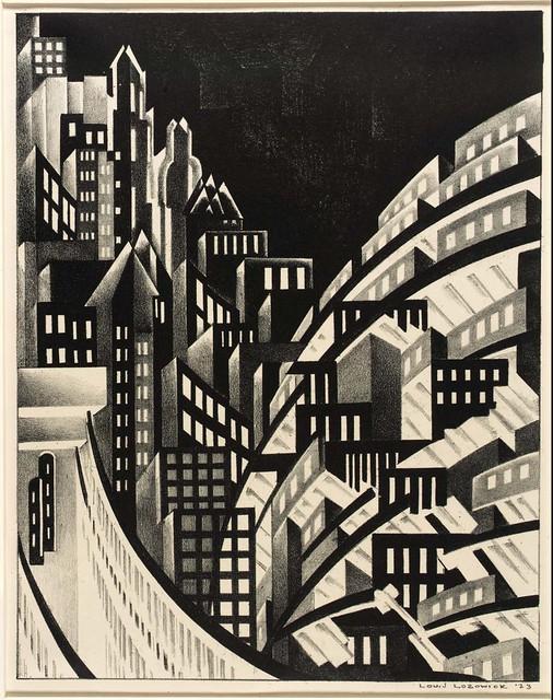 Louis Lozowick, New York (1923)