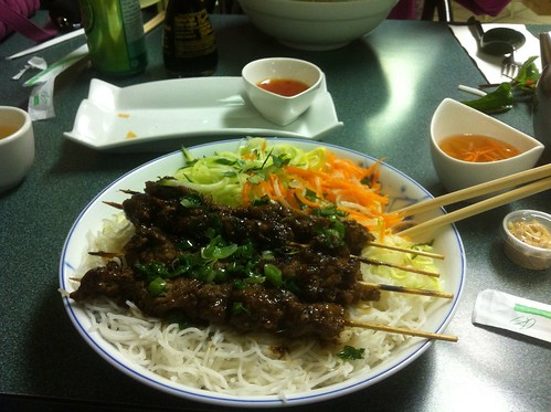 Grilled Beef Vermicelli by raise my voice