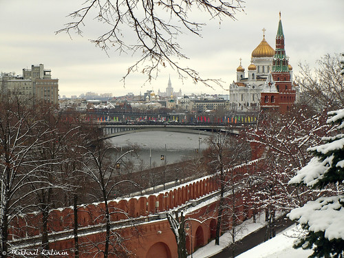 The sights of Moscow
