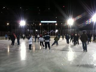 Group on ice