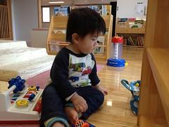 子育て支援センターにやってました(2012/1/7)