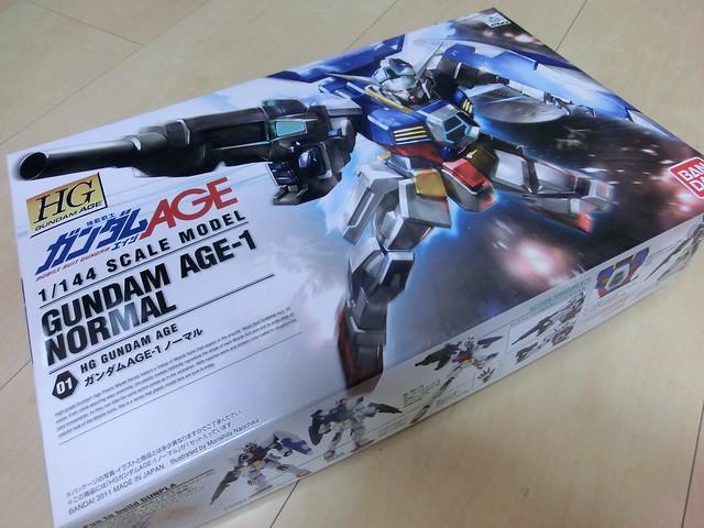 GUNDAM AGE-1 HG Grade Model