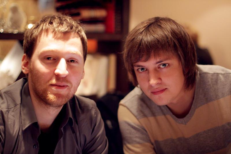 Slava and Eugene