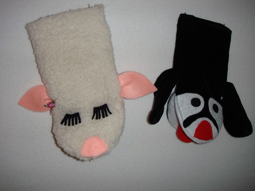 Hand Puppets for Grandkids