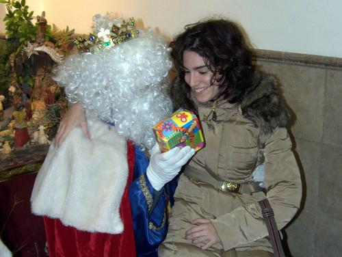 Los Reyes Magos visitan a los niños del Rescate (XI)