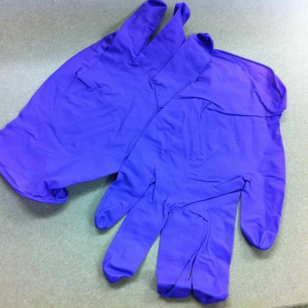 Purple latex free. How I get the job done at work. 5 of 10. #10on10